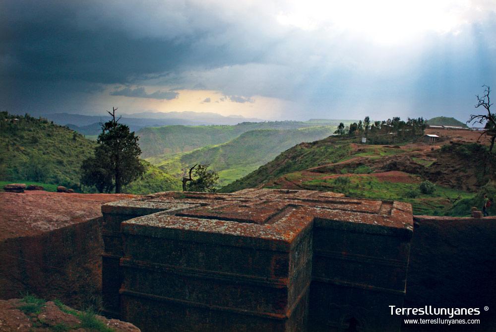 Viajes Etiopía. Bete Giorgis, lalibela