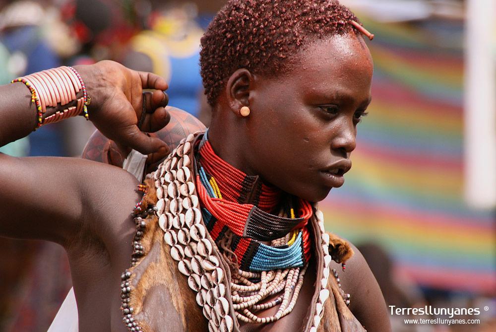 Viajes Etiopía, Valle del Omo. Hammer